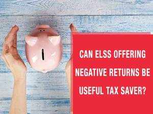 Watch: Can ELSS offering negative returns be useful to save taxes?