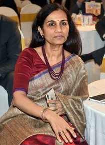 Mumbai: ICICI Bank MD & CEO Chanda Kochhar during the India Economic Summit 2018...