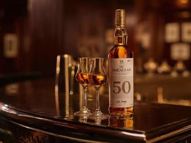 Scotch for the price of a luxe car? Macallan has a bottle for you from the time of the Vietnam War