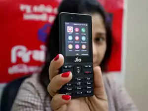 JioPhone tops handsets market in 2018: Report - The Economic Times