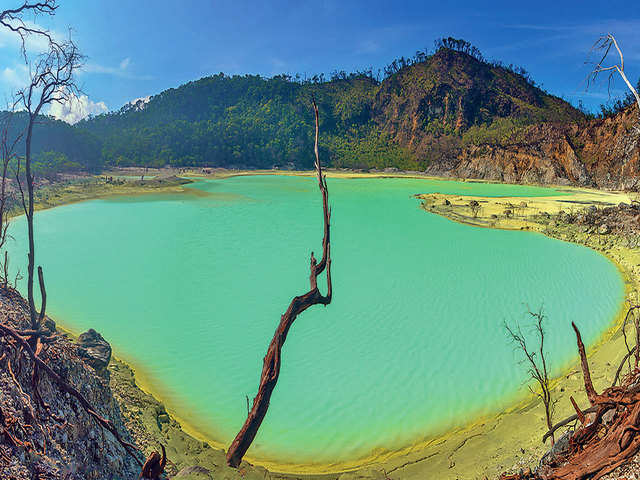 Hot lava, cool Java: Bandung offers a break with coffee and crater lakes
