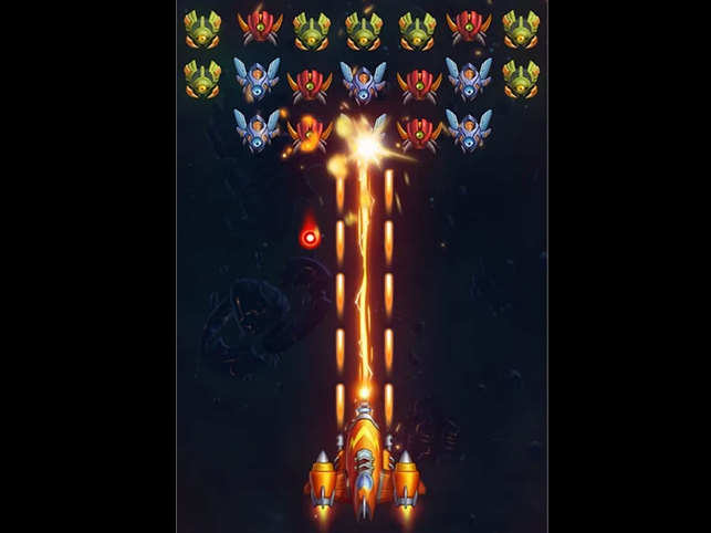 Galaxy Invaders: Alien Shooter is a modern take on the classic Galaga arcade game