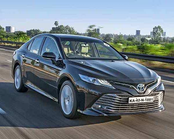 Autocar Show 2019 Toyota Camry Hybrid First Drive Review