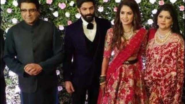 Watch: B-town attends Amit Thackeray's wedding reception in Mumbai