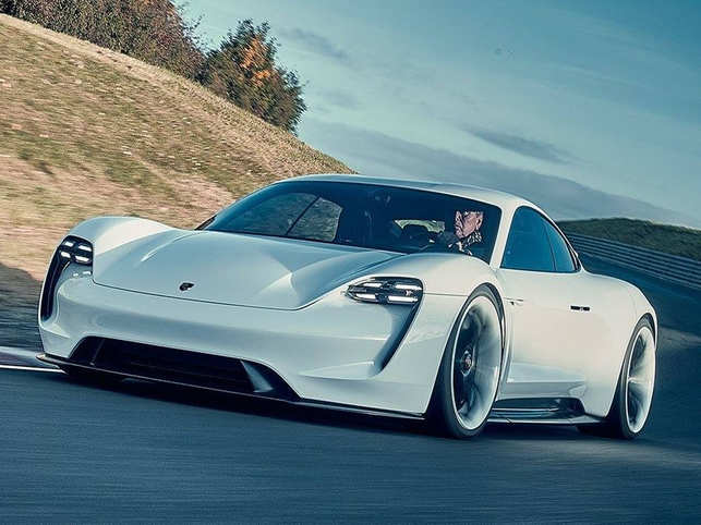 Porsche S Taycan Set To Give Stiff Compeion Tesla With 60 Miles Of Charge In 4 Minutes
