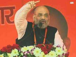 Amit Shah in Kanpur: Coalition govts cannot make country great, says BJP President
