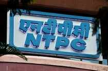 A signboard of NTPC (National Thermal Power Corporation Limited) is seen outside its office in Mumbai