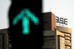 Sensex soars 665 pts on Budget hopes, Nifty reclaims 10,800 mark