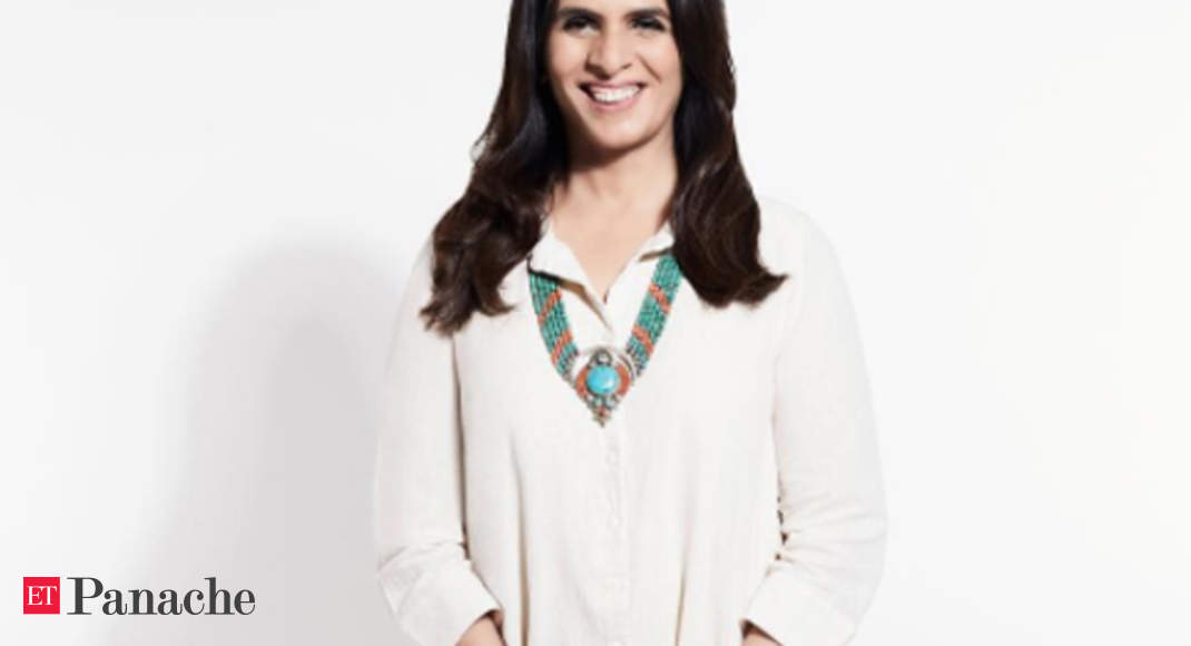 Anita Dongre Pretty Yet Powerful Anita Dongre Says Concept Of Power Dressing Partial Patriarchal The Economic Times