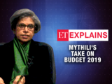 Budget 2019: An election budget, fiscal prudence in abeyance, says Mythili Bhushnurmath
