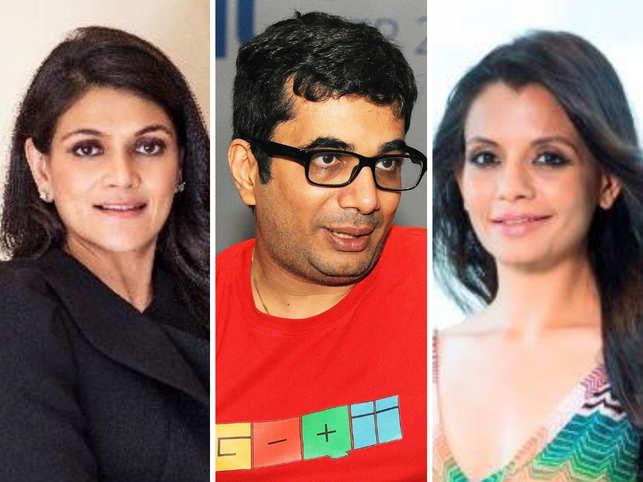 (L-R) Neerja Birla, Vishal Gondal & Priti Rathi-Gupta