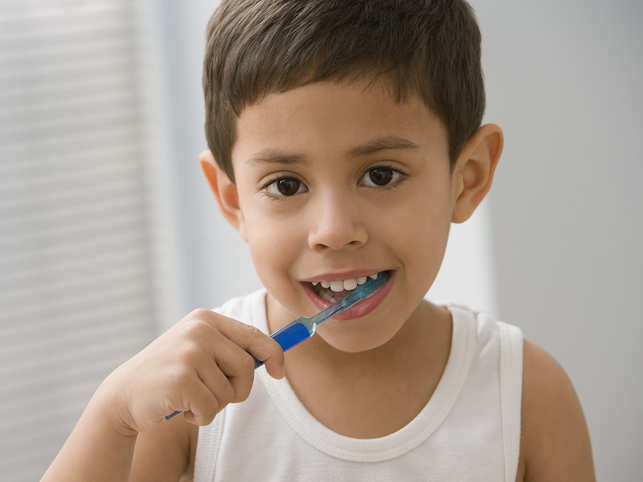 Kids Are Using Too Much Toothpaste; Here's What The CDC Recommends