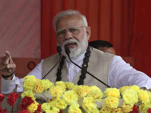 Modi apologises after several fall ill in stampede-like situation at rally