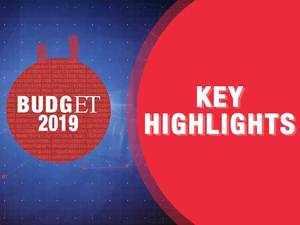Budget 2019: Highlights and expert views