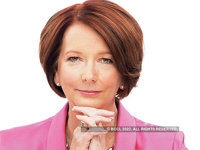 It's assumed women are too soft, emotional or hysterical for leadership roles: Julia Gillard