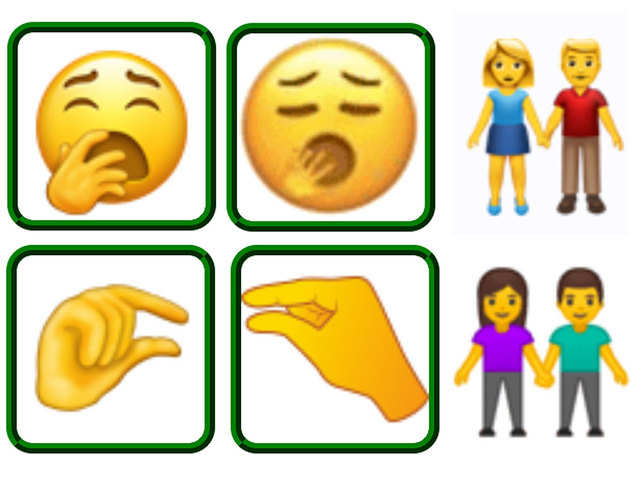 Now express yawning & pinching with a screen tap; 230 new emojis to launch this year