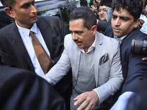 ED questions Robert Vadra for 9 hours in money laundering case for second day