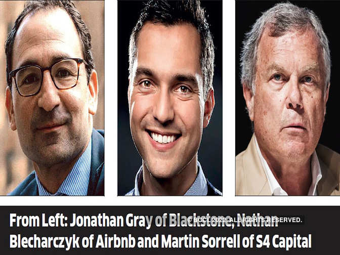 Blackstone, Airbnb, Harrods chiefs to speak at GBS 2019 - The