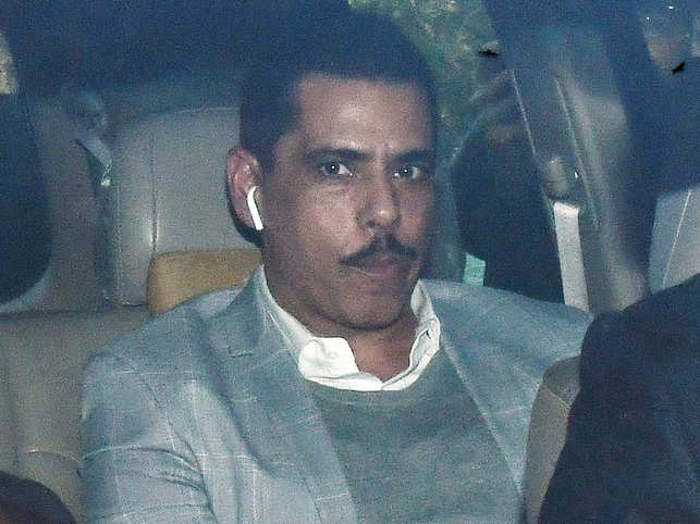 Shades of blue and grey: Robert Vadra didn't compromise on his style quotient at ED