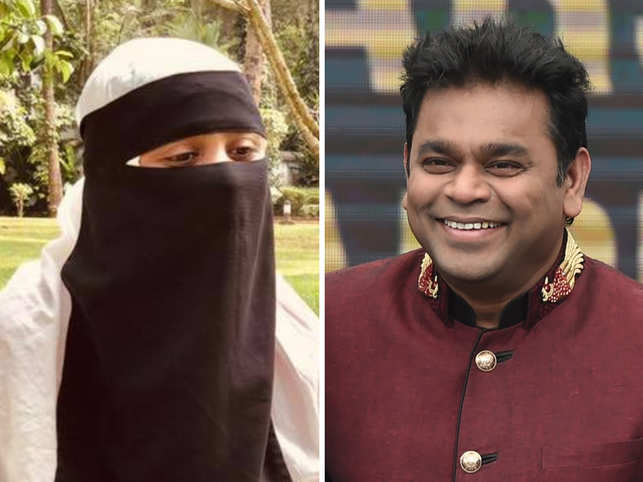 AR Rahman and his daughter Khatija