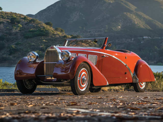 Bugattis in a barn: Coveted pre-war cars up for auction in Paris