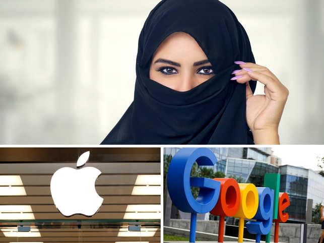 Apple, Google slammed for sporting app that allows Saudi men to