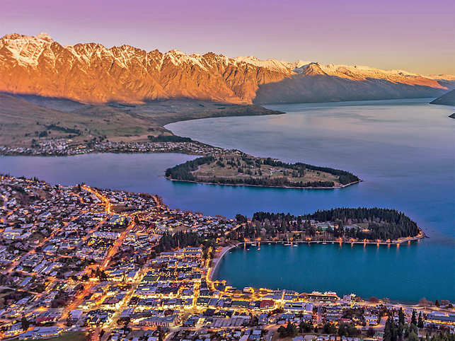 All It Takes To Enjoy New Zealand S Queenstown Is To Take A Stroll