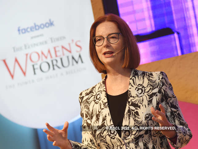 ET Women's Forum: An encouraging family, supportive school helped former Australia PM Julia Gillard be ambitious