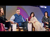 ET Women's Forum: 'She-preneurs ask for more permission, men for more forgiveness'