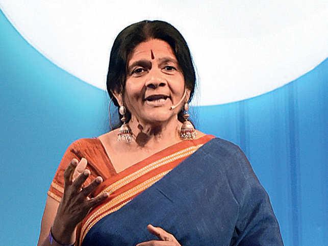 Chetna Sinha, founder of Mann Deshi Mahila Sahakari Bank
