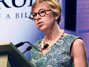 Brenda Trenowden, CBE, global chair of the 30% Club