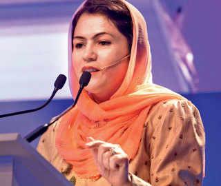 ET Women's Forum: Fawzia Koofi says women have to enter 'no-entry zone'