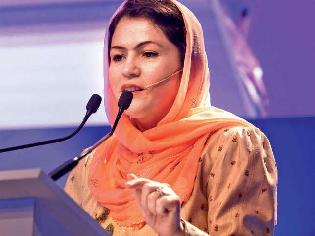 Fawzia Koofi, Afghanistan's first woman member of parliament