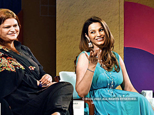 (From left) Advaita Kala and Diana Hayden
