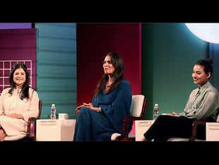 (From left) Namrata Joshipura, Anita Dongre and Ruchika Sachdeva