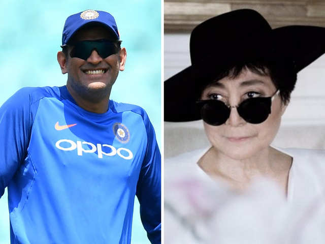 Dr. D's column: When ICC's tweet about Dhoni left Yoko Ono stumped