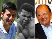 Novak Djokovic, Muhammad Ali & Ajit Wadekar: Champions of sports and humour