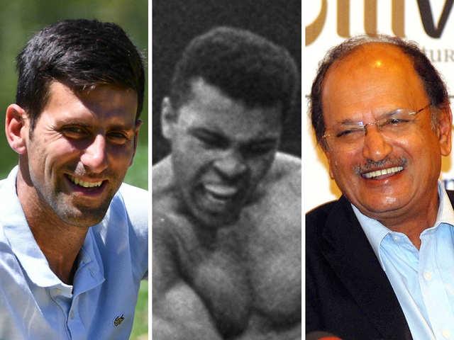 Novak Djokovic, Muhammad Ali & Ajit Wadekar: Champions of sports and humour
