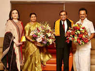 Mukesh Ambani, wife Nita meet MK Stalin in Chennai; invite DMK chief for Akash-Shloka's wedding