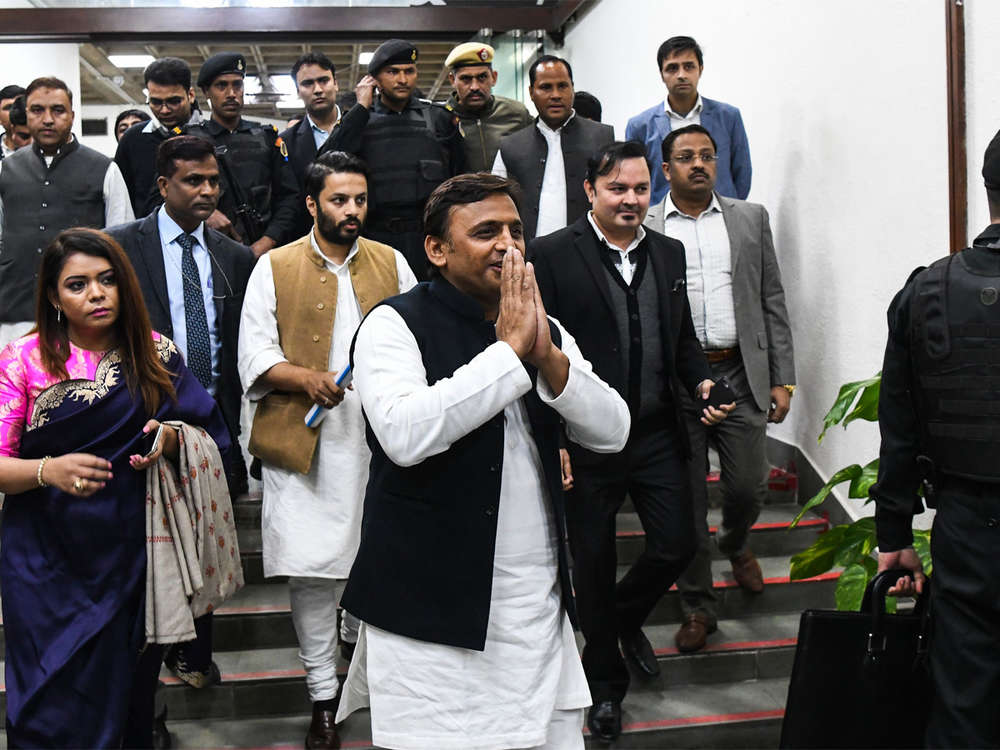 A cover to hide nervousness: Akhilesh Yadav hits back as Yogi says visit could have triggered violence