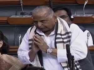 Hope Narendra Modi returns as Prime Minister again: Mulayam Singh Yadav in Lok Sabha