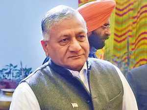 VK Singh slams HAL over slow operations, says its aircraft's parts fall off on runway