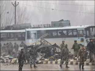 Pulwama attack: 37 CRPF personnel martyred in suicide attack in Kashmir