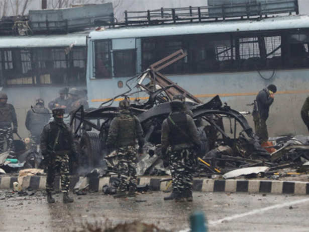 Image result for pulwamaattack