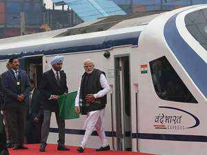 Vande Bharat Express: PM Modi flags off India's fastest train