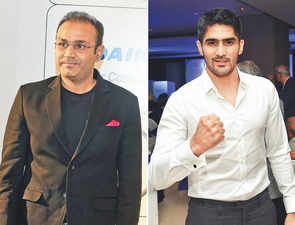 Pulwama attack: Sehwag offers to fund education of martyrs' children; Vijender Singh donates a month's salary