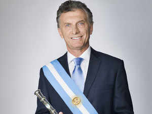 Macri announces that Argentina is committed to international security by broadening defence cooperation with India