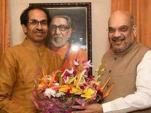 2019 Polls: Thackeray, Shah set to declare Shiv Sena-BJP seat-sharing pact