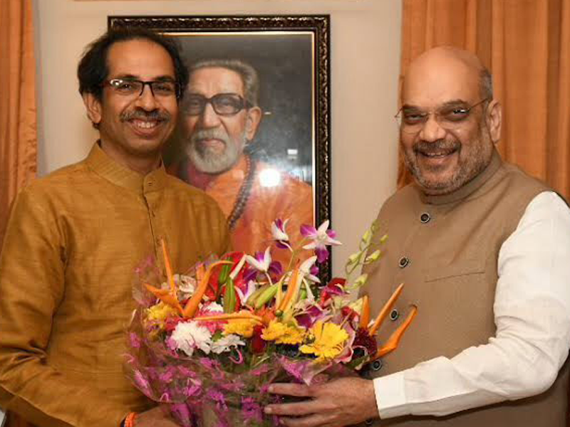 BJP and Shiv Sena Alliance: BJP and Shiv Sena seal deal for 2019 Lok