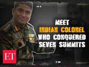 Not a winner on a mountain but a survivor, says only Indian Colonel who conquered seven summits